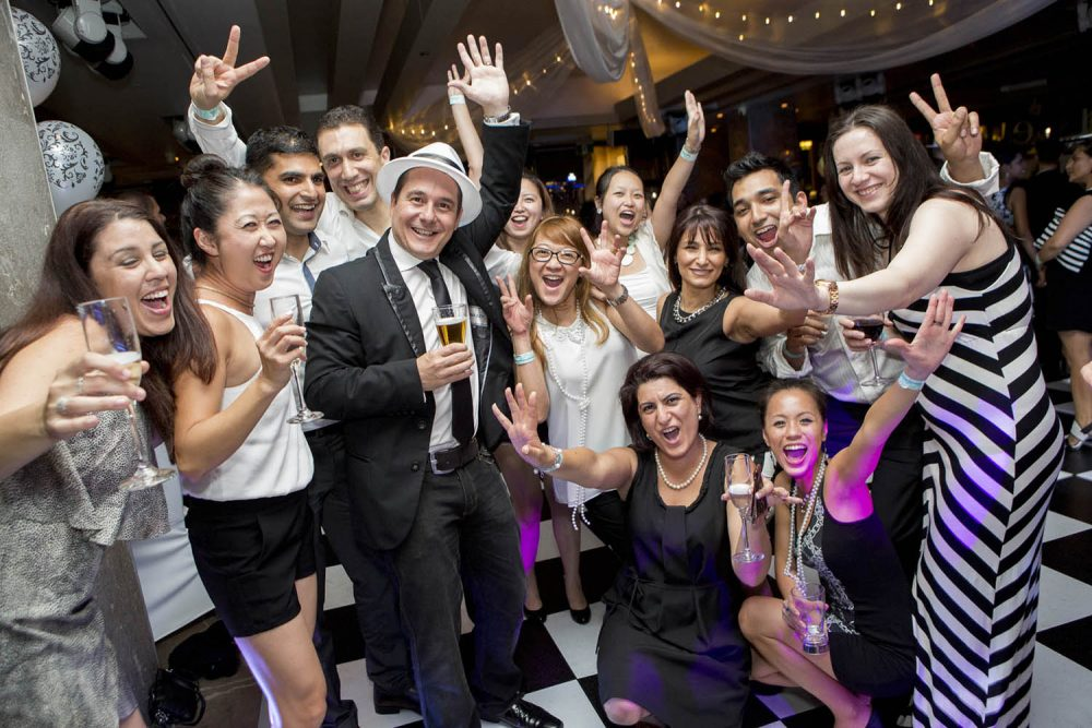 Christmas Black and white events